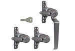 B195K09FTR Triplex Window Key-lock Handle (Face Fix)