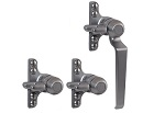 B195N09FTR Triplex Window Handle (Face Fix)